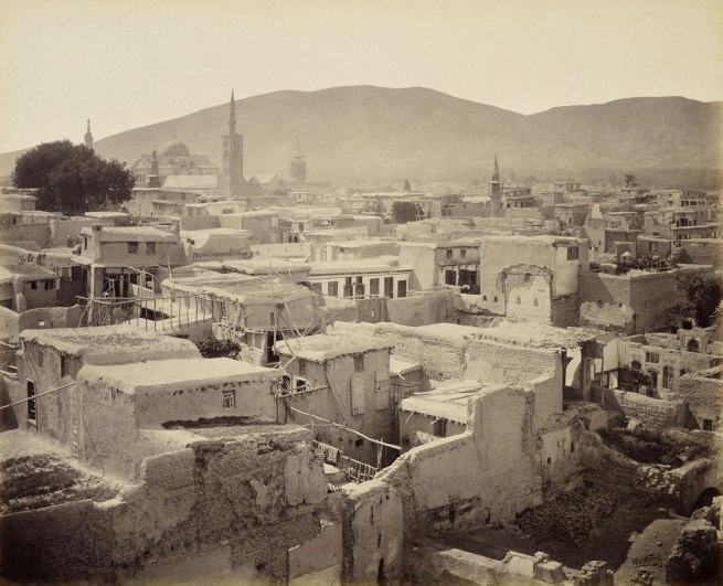 Francis Bedford (1815-94) (photographer) 'Damascus - from a minaret in the Christian quarter [Syria]' 30 Apr 1862