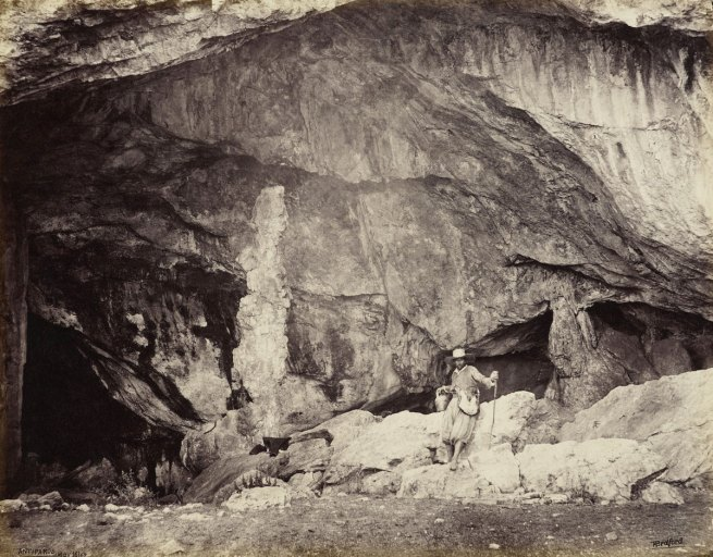 Francis Bedford (1815-94) (photographer) 'Entrance to the Grotto of Antiparos' 16 May 1862