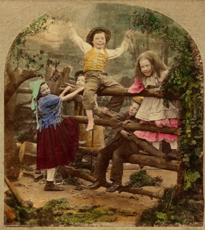Michael Burr. 'Happy as a King' (detail) 1865