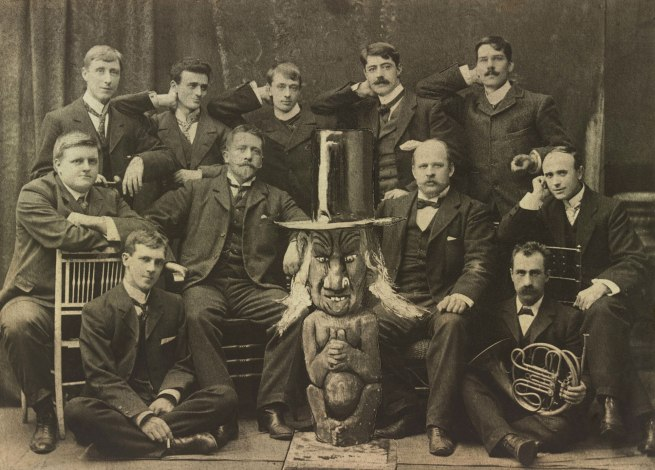 Unknown photographer. 'Members of the Ishmael Club' c. 1900