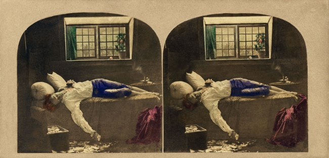 James Robinson(Ireland 1850s-1870s) 'The Death of Chatterton' 1859