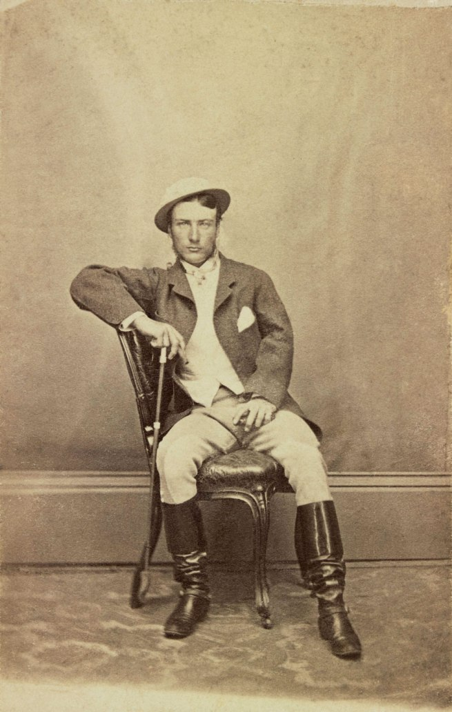 Unknown photographer. 'Marcus Clarke' 1866