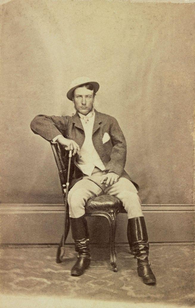 Unknown photographer. 'Marcus Clarke' 1866