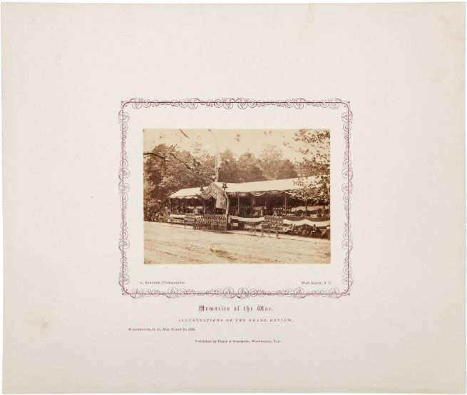 Alexander Gardner: 'Memories of the War. Illustrations of the Grand Review' 1865