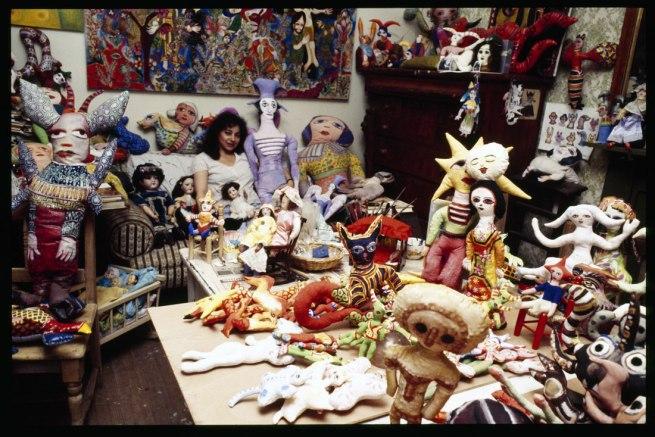 Rennie Ellis. 'Mirka Mora in her studio' 1978