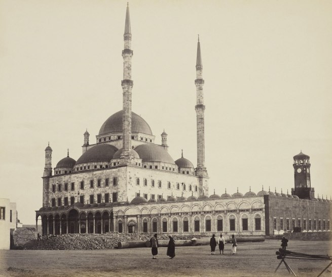 Francis Bedford (1815-94) (photographer) 'Mosque of Mehemet Ali [Mosque of Muhammad Ali, Cairo]' 8 March 1862