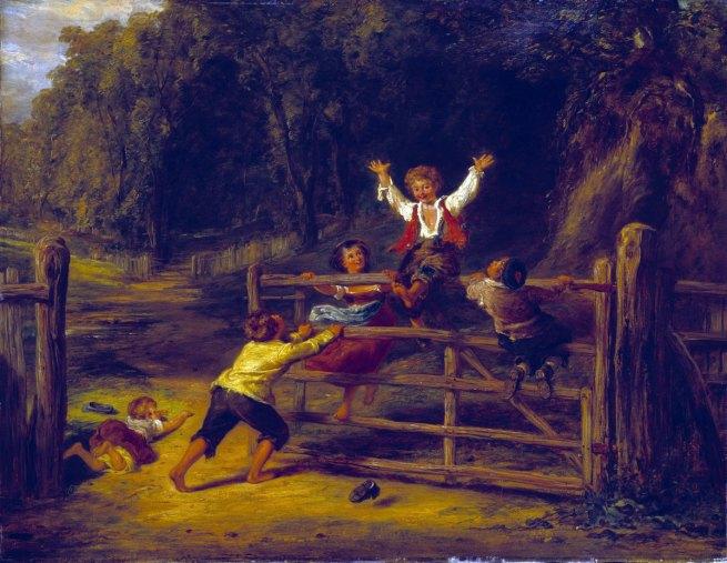 William Collins. 'Happy as a King' (replica) c. 1836