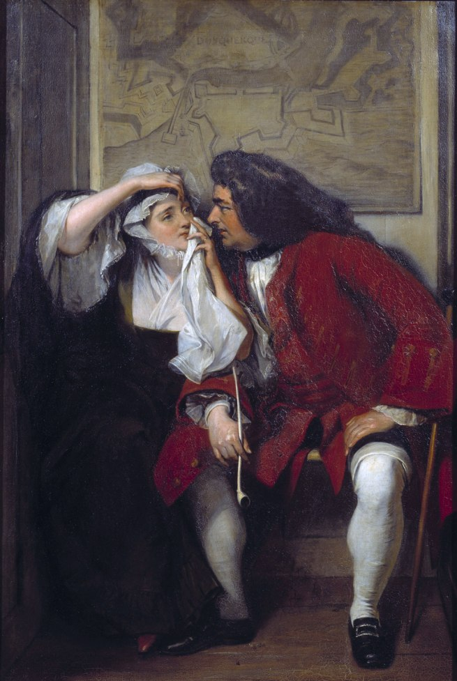 Charles Robert Leslie. 'A Scene from Tristram Shandy ('Uncle Toby and the Widow Wadman')' 1829-30