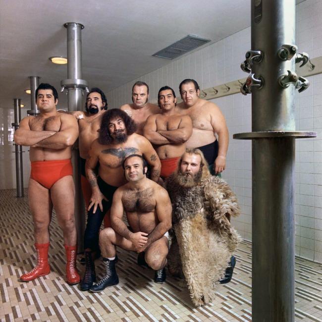 Neal Slavin (b. 1941) 'Capitol Wrestling Corporation, Washington, D.C .,' from the portfolio 'Groups in America' 1979