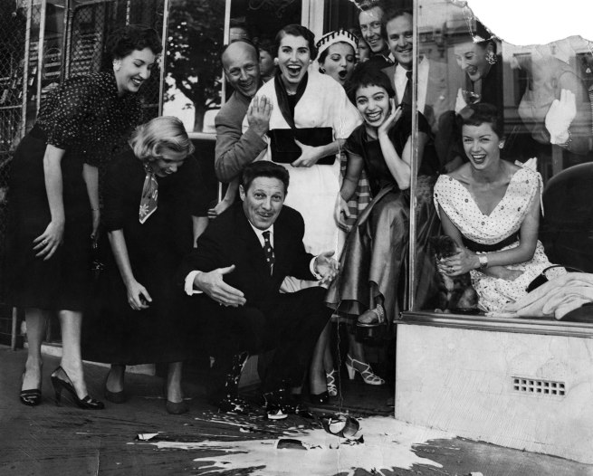 Unknown photographer. 'Opening of Mirka Café' 1954