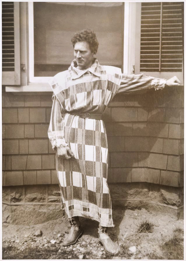 Unknown photographer, New York. 'Percy Grainger wearing a towelling clothes outfit at his home in White Plains' 1936