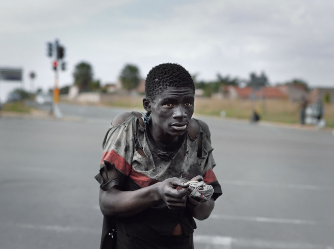 Pieter Hugo. 'At a Traffic Intersection, Johannesburg' 2011