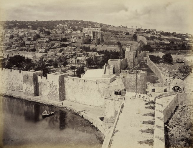 Francis Bedford (1815-94) (photographer) 'Rhodes, supposed site of the Colossus' 15 May 1862