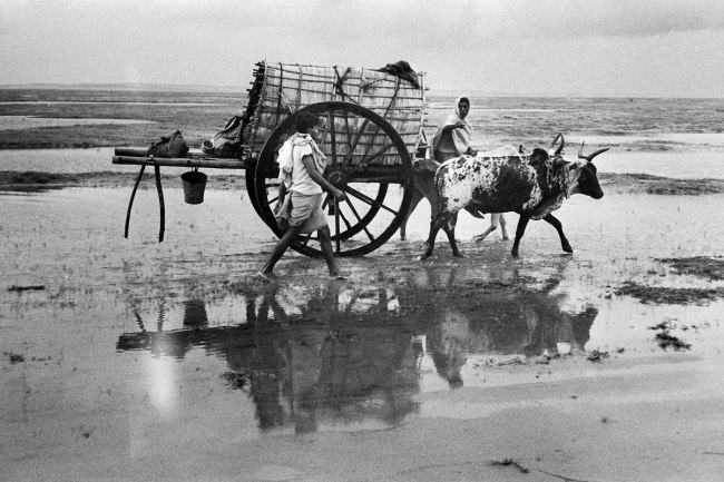 Marc Riboud (French, b. 1923) 'Between Konark and Puri' Orissa, India, 1956