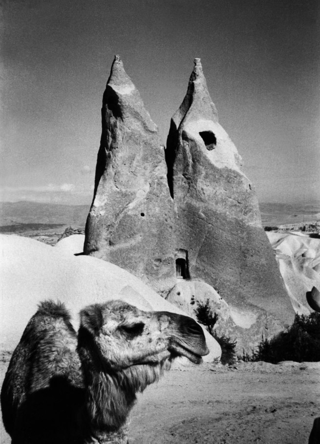 Marc Riboud (French, b. 1923) 'Cave Dwelling, between Urgup and Uchisar' Cappadocia, Turkey, 1955