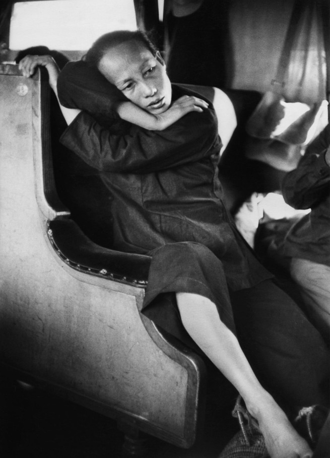 Marc Riboud (French, b. 1923) 'On a Train from Hong Kong to Guangzhou' China, January 1, 1957