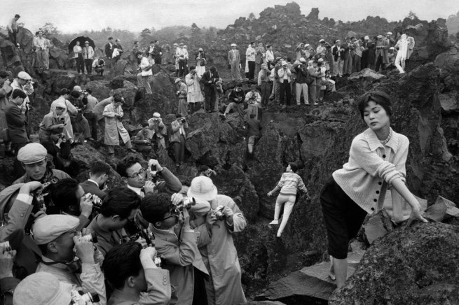 Marc Riboud (French, b. 1923) 'Photography Fair 150 Kilometers from Tokyo' Japan, 1958