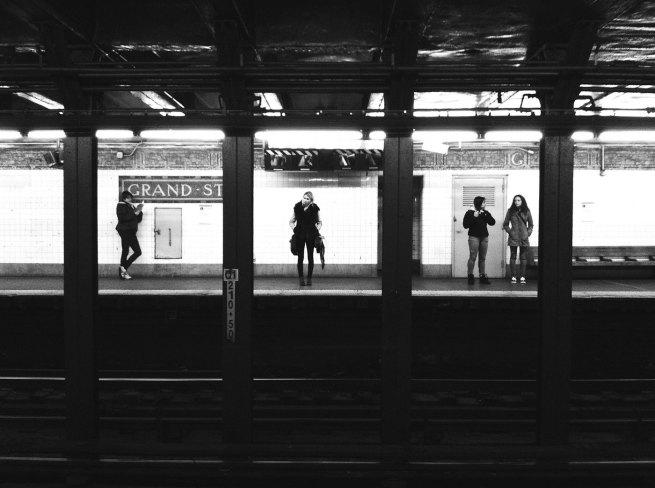Greg Schmigel (b.1969) 'Subway Triptych' 2011