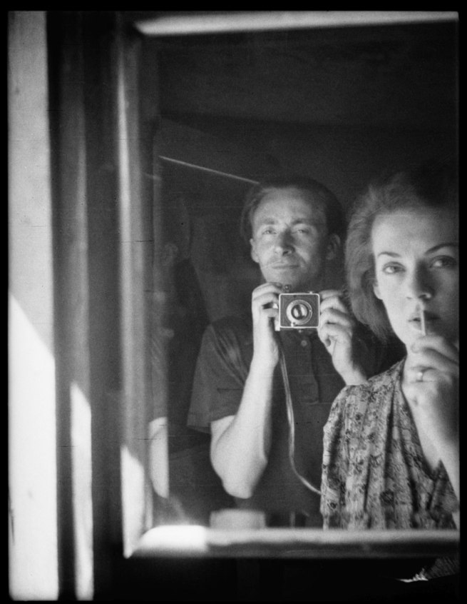 Albert Tucker. 'Self-portrait with Joy Hester' 1939
