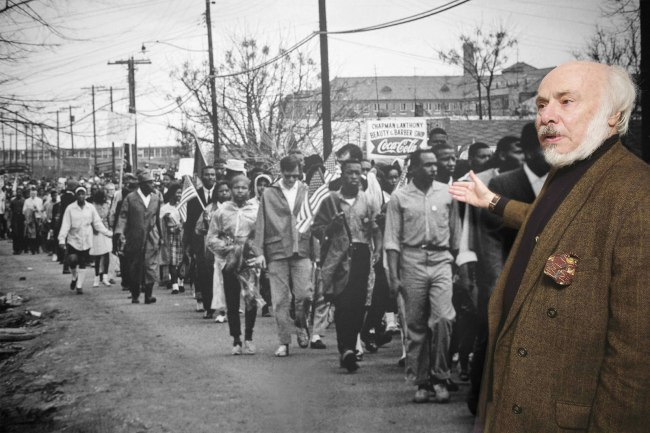 Stephen Somerstein talks about a photo he took during the famous 1965 Selma to Montgomery, Ala., march at the New-York Historical Society