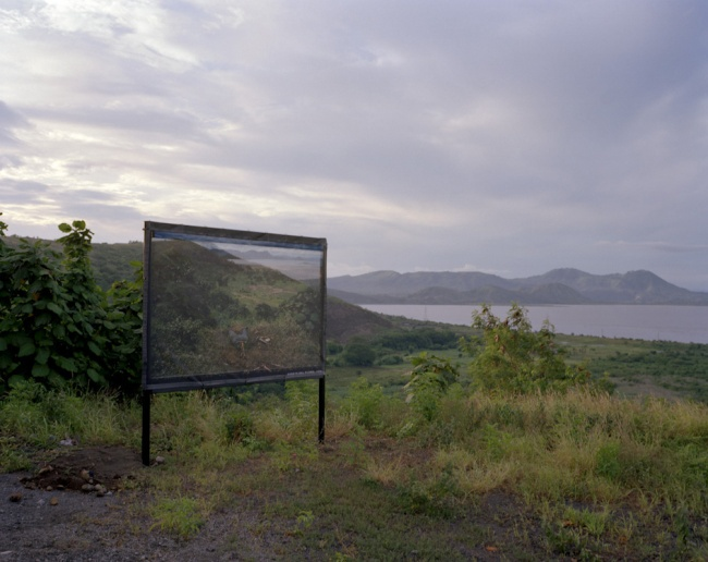 Susan Meiselas. 'Managua, July 2004' from the series 'Reframing History'