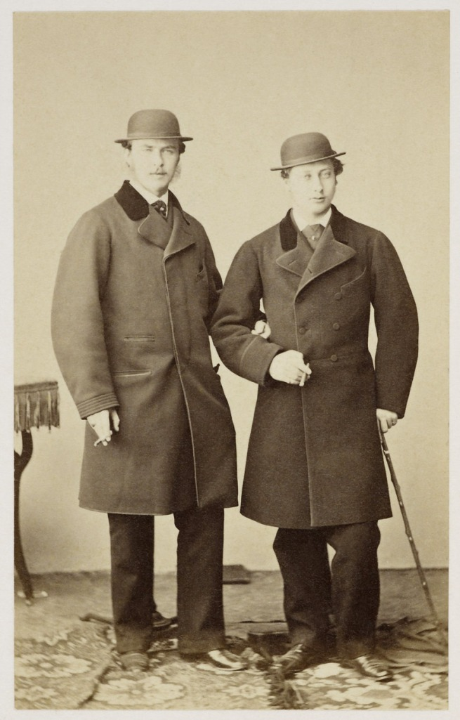Joseph Albert (1825-86) (photographer) '[The Prince of Wales and Prince Louis of Hesse, 11 February 1862]' Feb 1862