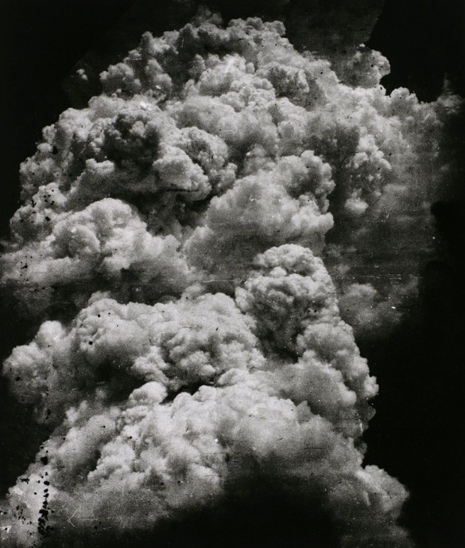 Toshio Fukada. 'The Mushroom Cloud - Less than twenty minutes after the explosion (4)' 1945