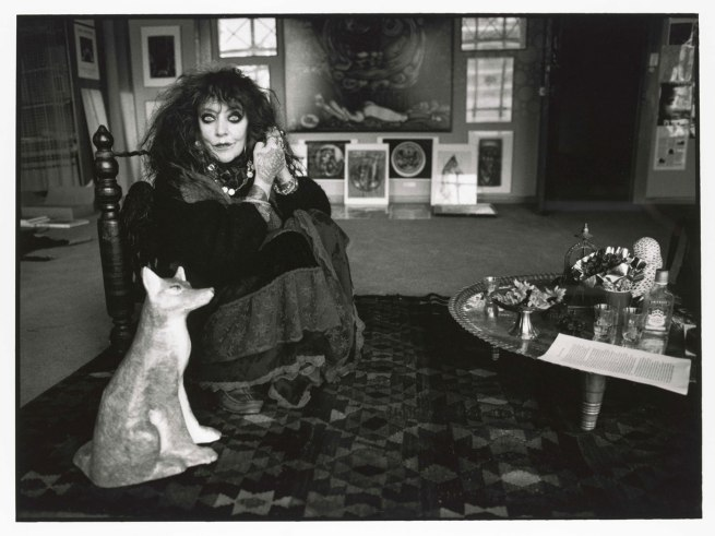 Liz Ham. 'Vali Myers in her studio in the Nicholas Building' 1997