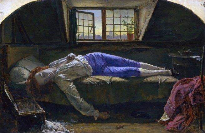 Henry Wallis(1830-1916)'Chatterton'1856
