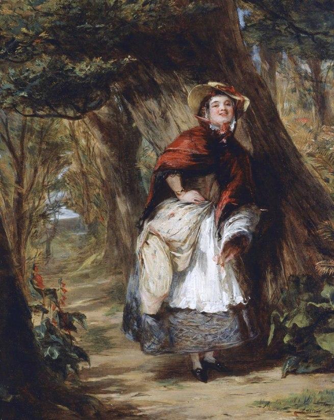 William Powell Frith. 'Dolly Varden' c. 1842-9