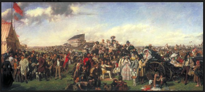 William Powell Frith. 'The Derby Day' 1856-8