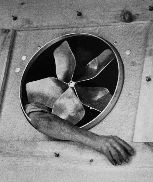 André Kertész. 'Fan, December 1937' 1937