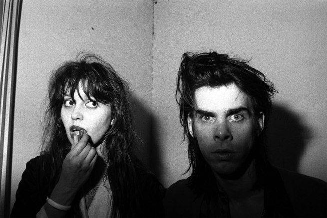 Peter Milne. 'Anita Lane and Nick Cave, The Venue, St Kilda' mid-1980s