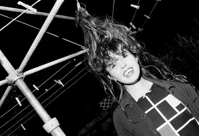 Peter Milne. 'Anita Lane at a party' mid 1980s
