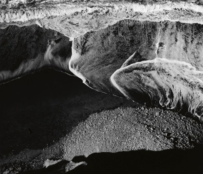 Ansel Adams (1902-1984) 'Surf Sequence #4' 1940