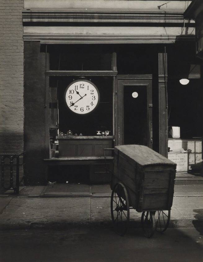 Berenice Abbott (1898-1991) 'Christopher Street Shop' late 1940s