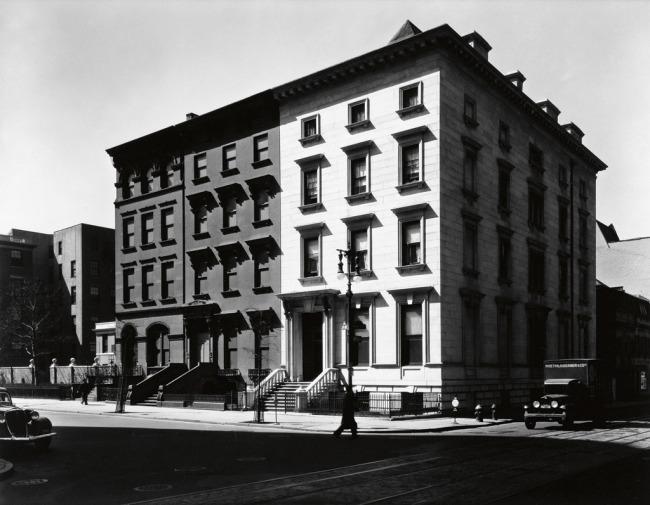 Berenice Abbott (1898-1991) 'Fifth Avenue Houses' 1936