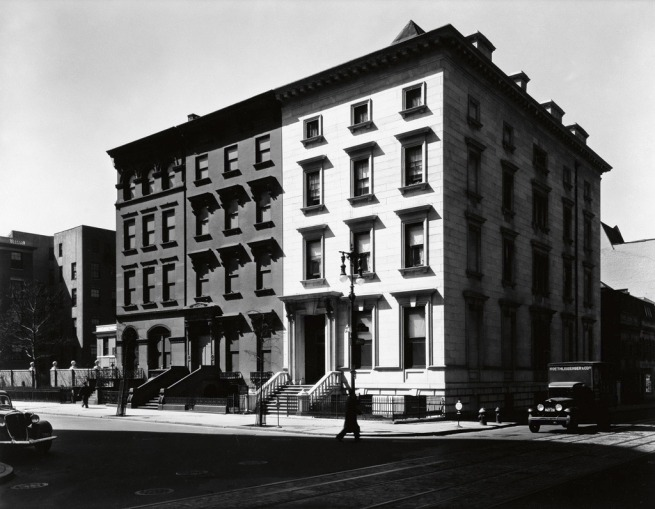 Berenice Abbott (1898-1991) 'Fifth Avenue Houses' 1936