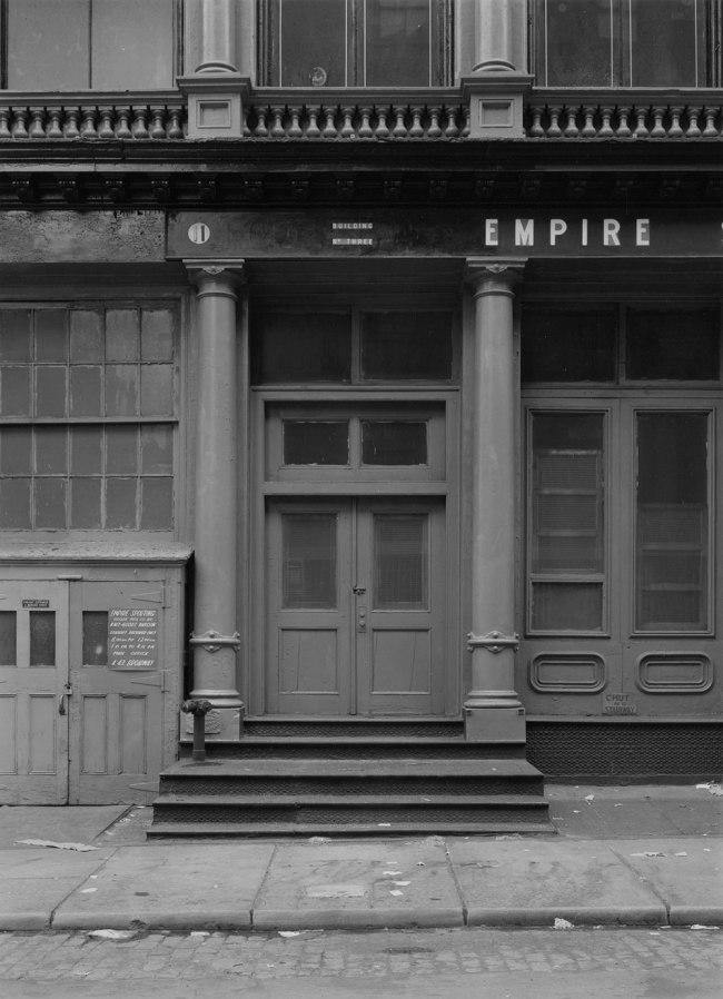 Bevan Davies. '11 Mercer Street, New York' 1976