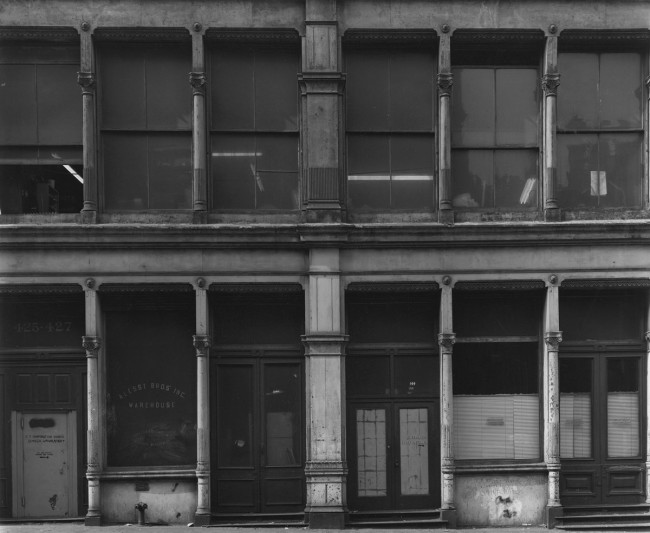 Bevan Davies. '425 Broome Street, New York' 1976