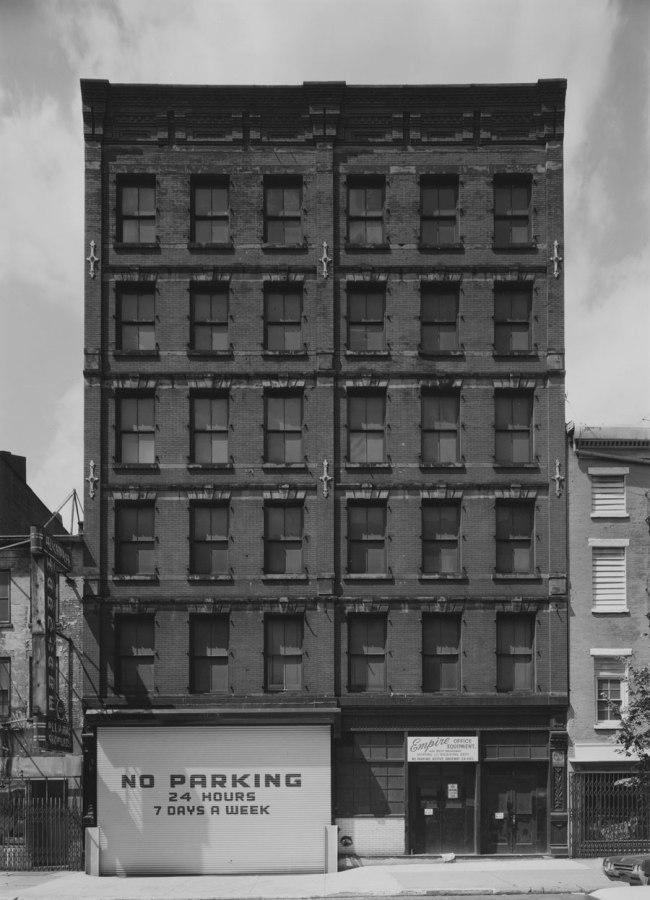 Bevan Davies. '426 West Broadway, New York' 1975