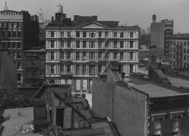 Bevan Davies. 'Bond Street, Facing North, New York' 1976
