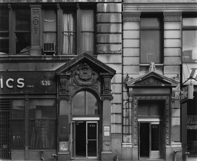 Bevan Davies. 'Broadway, New York' 1976