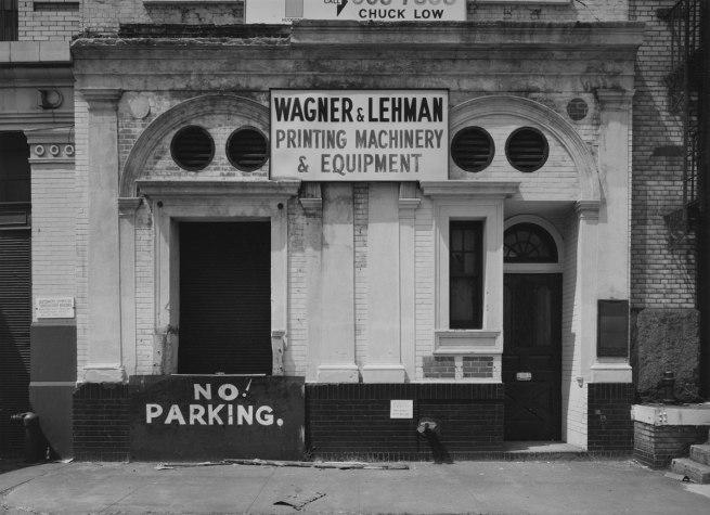 Bevan Davies. 'Hudson Street, New York' 1975