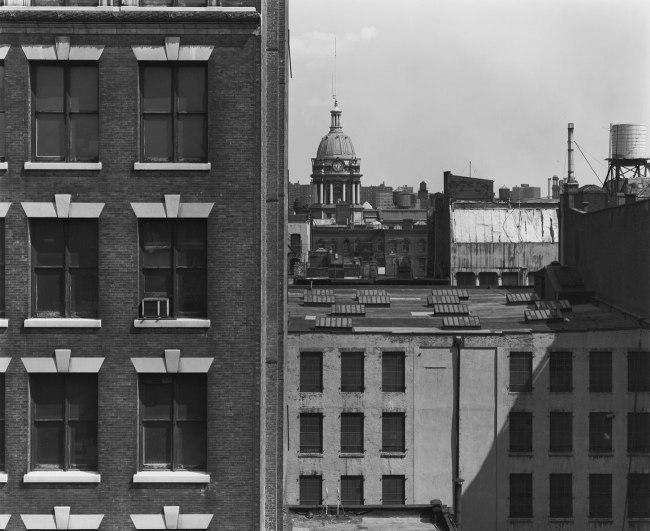Bevan Davies. 'View from 475 Broadway, New York' 1976
