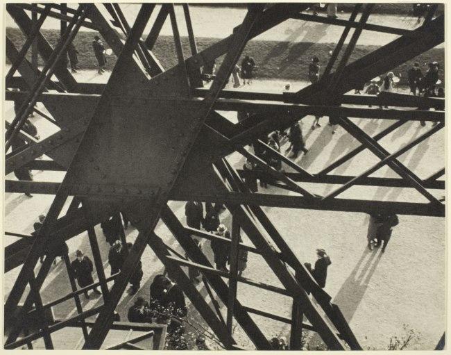 Ilse Bing. 'Eiffel Tower, Paris, 1931' 1931