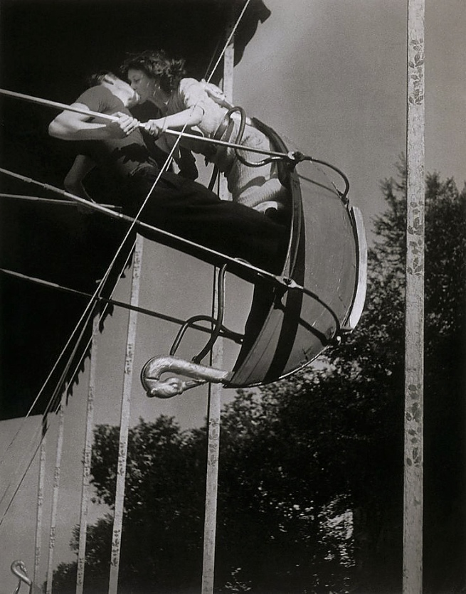 Brassaï. 'Kiss on the Swing' 1935-37