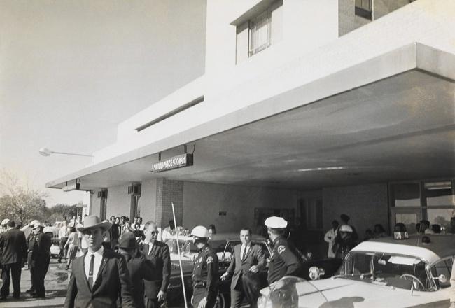Cecil Stoughton (1920-2008) 'Pres. John F. Kennedy's Lincoln Continental' 1963