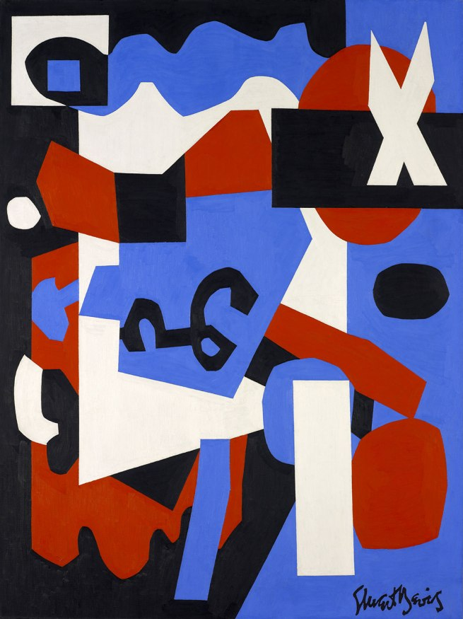 Stuart Davis. 'Ready-to-Wear' 1955