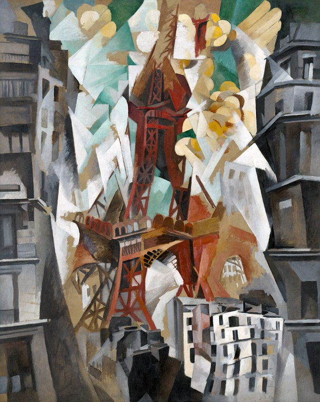 Robert Delaunay. 'Champs de Mars: The Red Tower' 1911/23